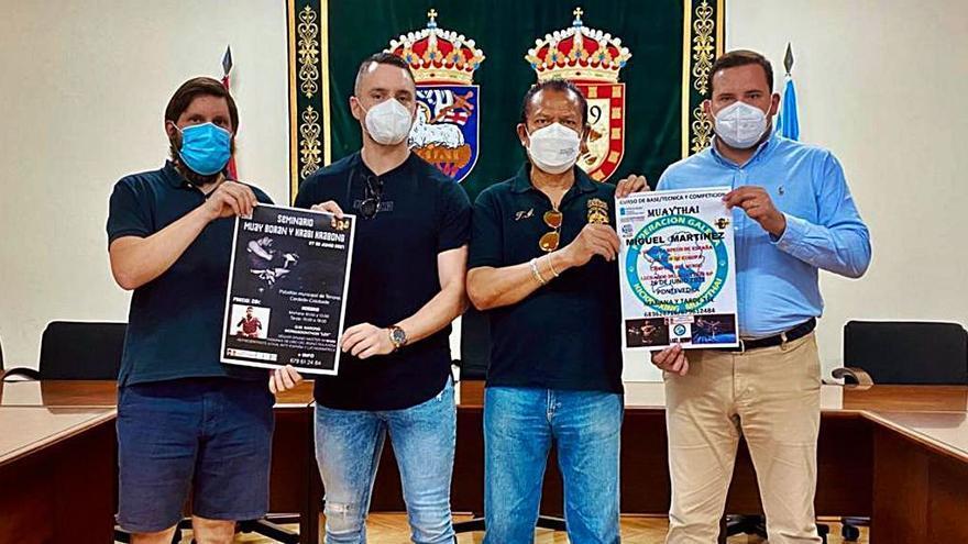 Cerdedo-Cotobade acoge un seminario sobre el Muay Thai