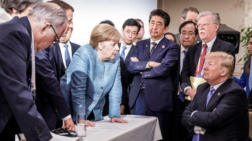 Fracàs al G-7: Trump retira els EUA del comunicat final i acusa Trudeau de ser «deshonest i dèbil»