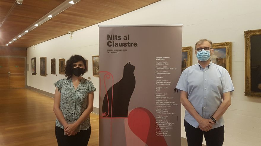El IVC en Castellón refuerza 'Nits al Claustre' en su programación veraniega