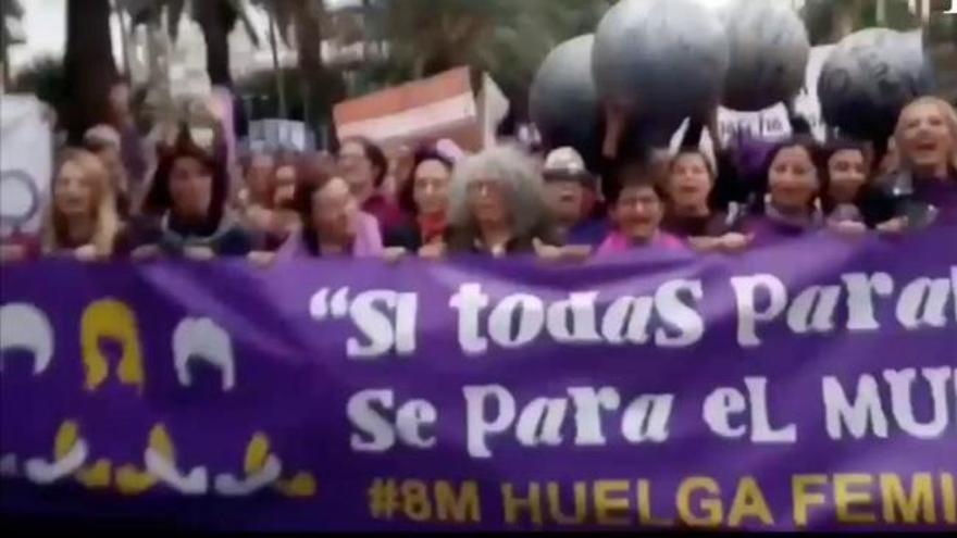 Manifestación 8M - Día Internacional de la Mujer en Las Palmas de Gran Canaria (I)