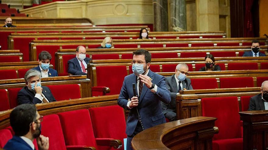 Decauen 50 lleis en tràmit pel final de la legislatura al Parlament