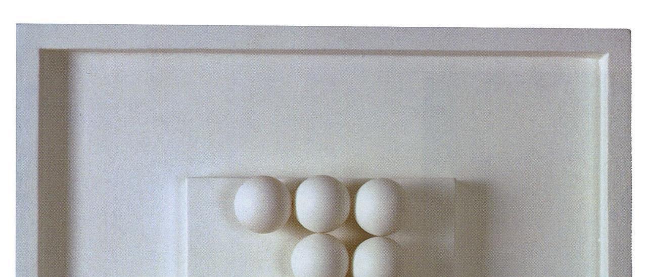 Obra integrant de l'exposició  individual a la Sala Mateu  (1966).  Col·lecció particular