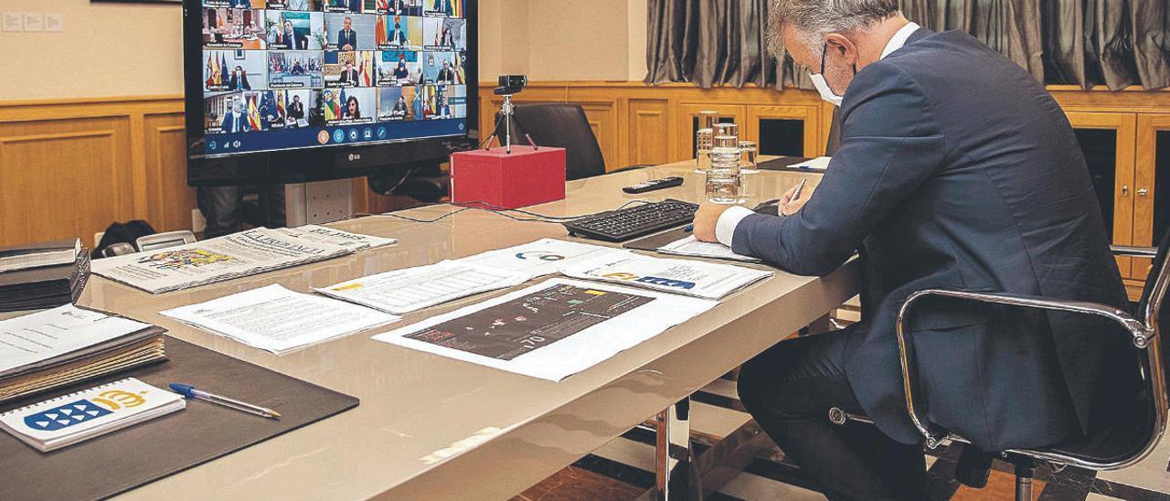 Canarias pide preferencia en el reparto de los fondos UE de reconstrucción