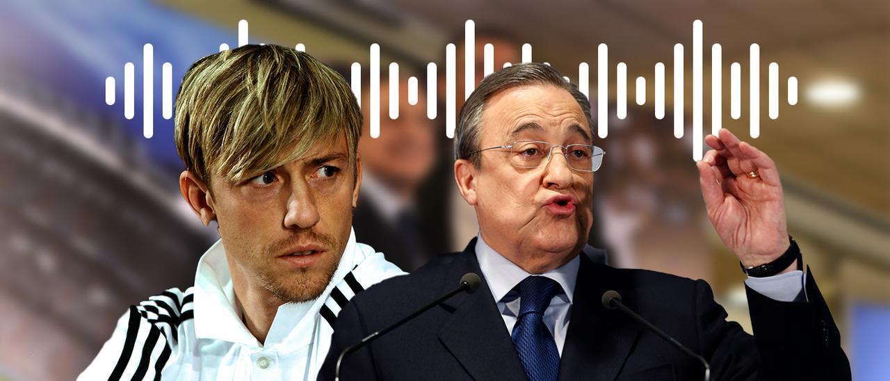 Guti, a la izquierda, otra de las víctimas de las grabaciones de Florentino Pérez,  a la derecha