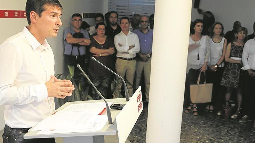 García niega que intente «quebrar» el partido