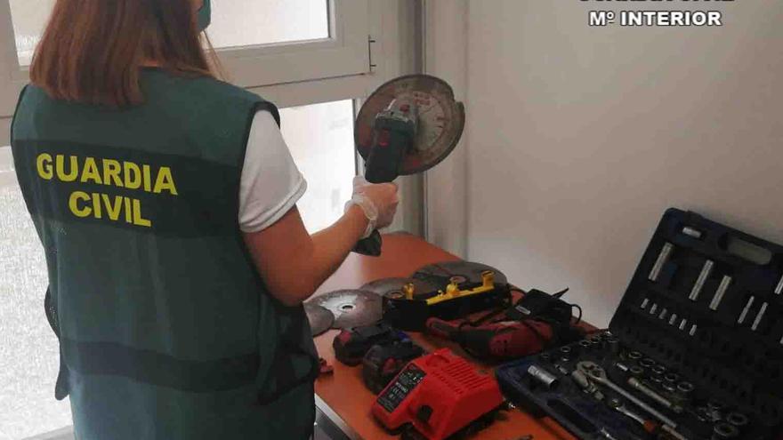 Dos detenidos por robar los catalizadores de 14 coches en varias zonas de Mallorca