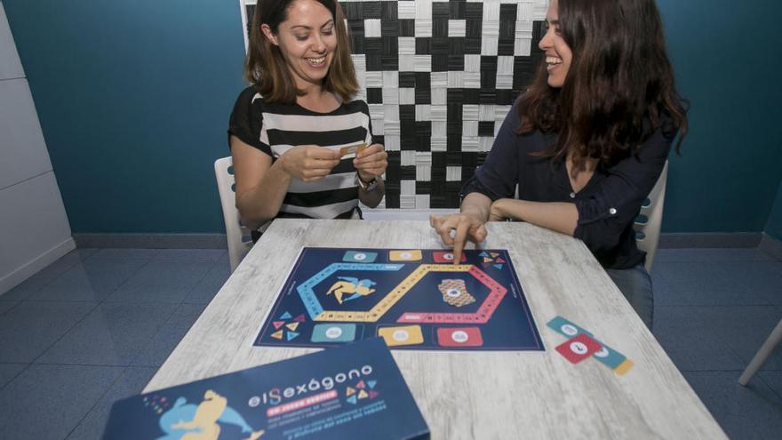 Placer e igualdad sexual en un juego de mesa