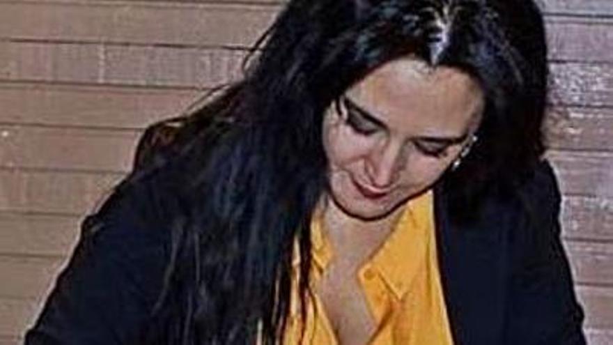 Mercedes Ben Salah, en la firma.