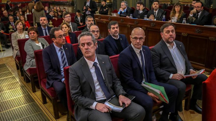 La fiscalía se opone en 12 informes al indulto de los presos del 'procés'