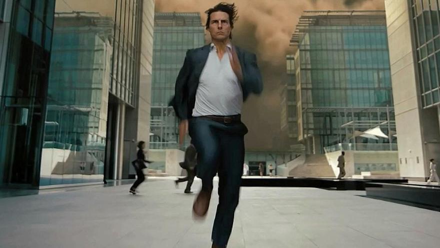 """Tom Cruise, a Annabelle Wallis: """"Nadie corre ante las cámaras conmigo"""""""