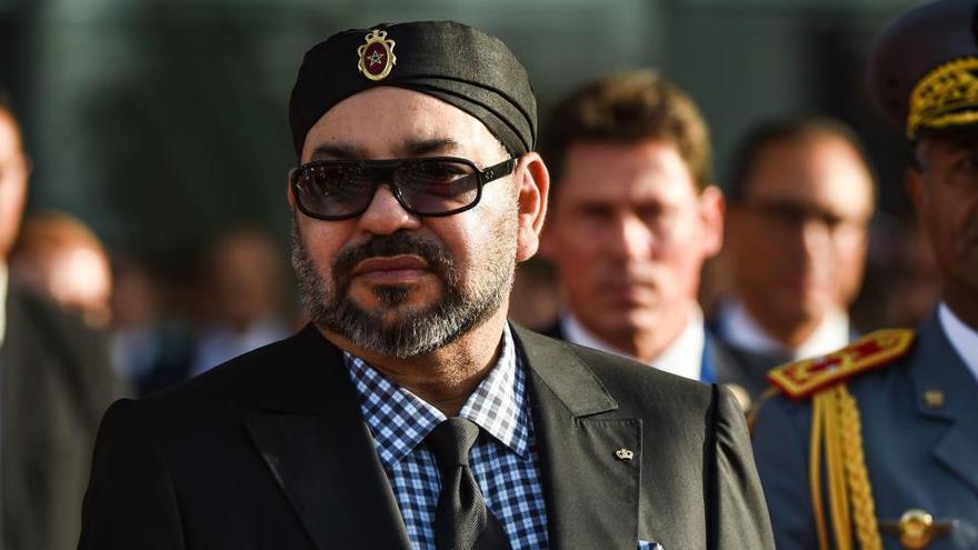 """El rey de Marruecos, operado """"con éxito"""" del corazón"""