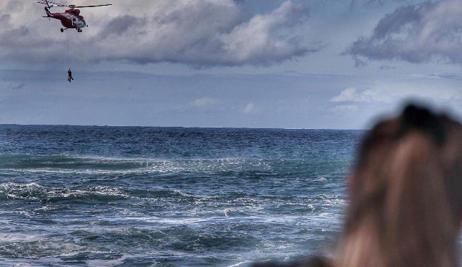 Rescatada una bañista en Puerto de la Cruz