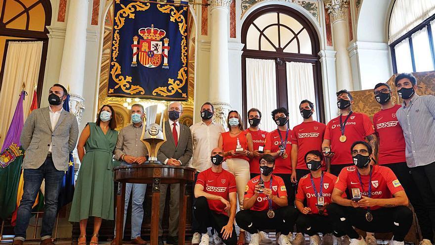 Tributo a Vodafone Giants, campeón de España en League of Legends