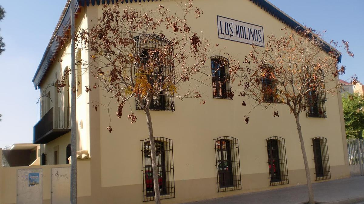 El centro municipal Los Molinos de San Vicente.