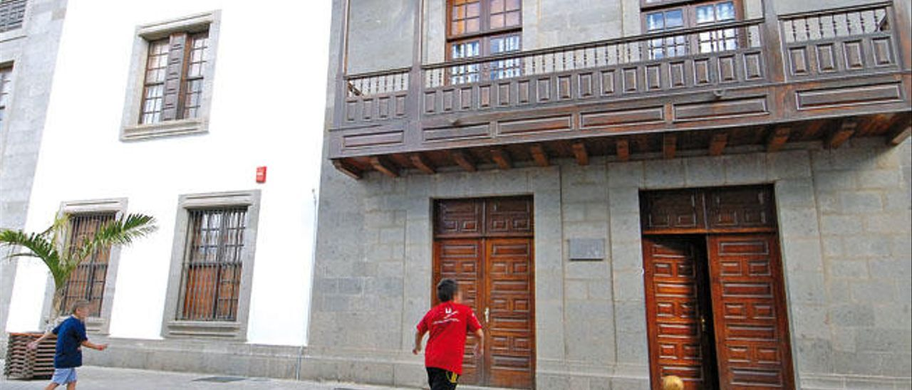 Centro de menores de Santa Rosalía del Cabildo en Telde