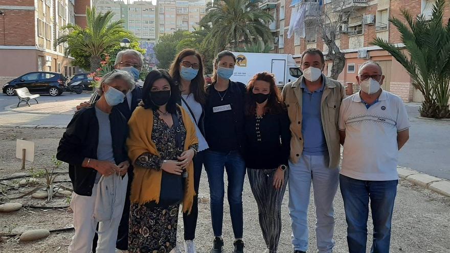 Vecinos de la Sangueta denuncian al PSOE la presencia de fibrocemento en las conducciones de agua potable
