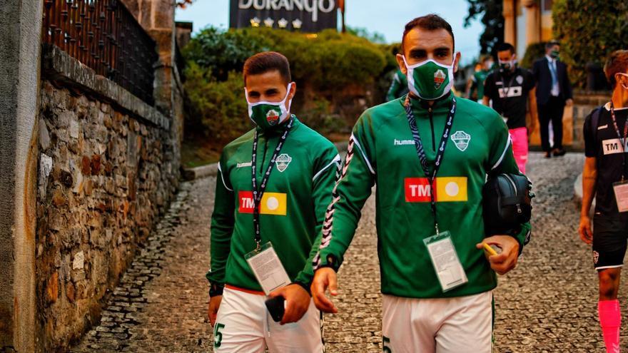 Lucas Boyé, única novedad en el once inicial del Elche frente al Eibar