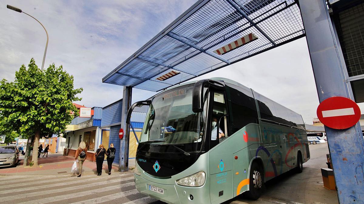Hay unas 80 empresas de  transporte de viajeros en la Región.  juan carlos caval