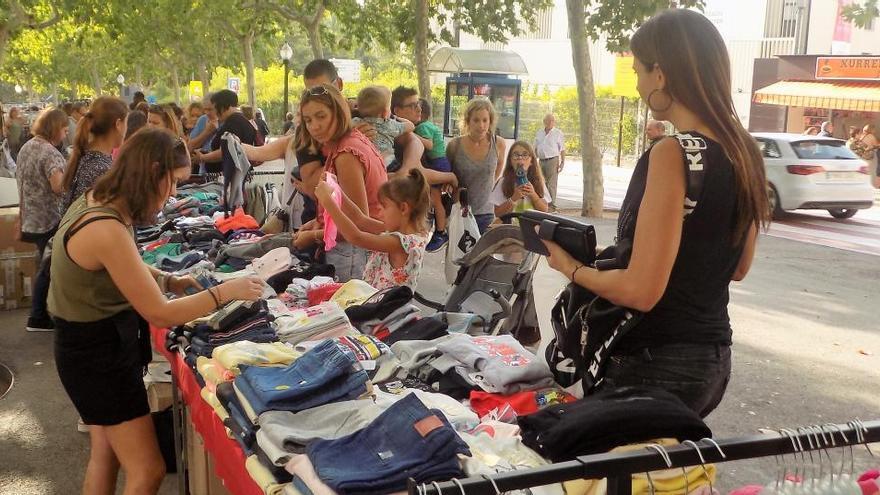 La 7a Firastiu i la 1a Fira de Setembre ocuparan el Passeig de Crist Rei a la plaça de l'Onze de Setembre