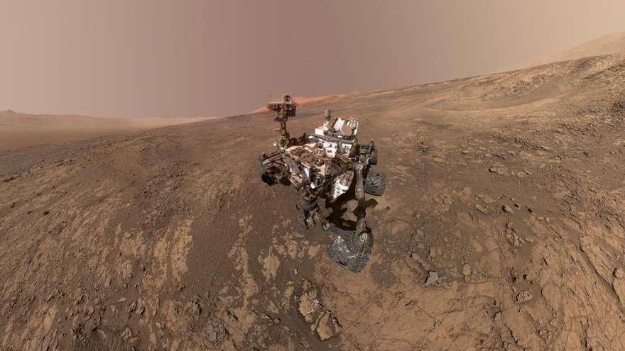 Curiosity descubre nitrógeno en Marte