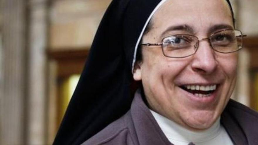 """Sor Lucía Caram, la monja que atiza al """"mujeriego"""" Juan Carlos I"""