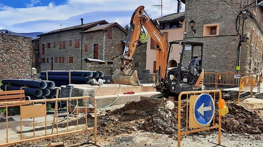 Puigcerdà inicia les obres de millora del carrer Oceja de Vilallobent
