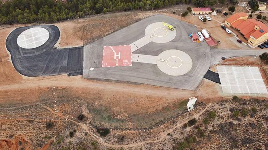 Aragón dispone de 167 helipuertos y helisuperficies de control público