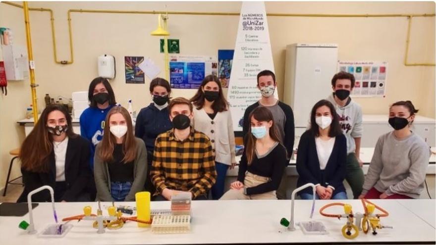 Estudiantes de Unizar recaudan fondos para participar en un concurso mundial de biología