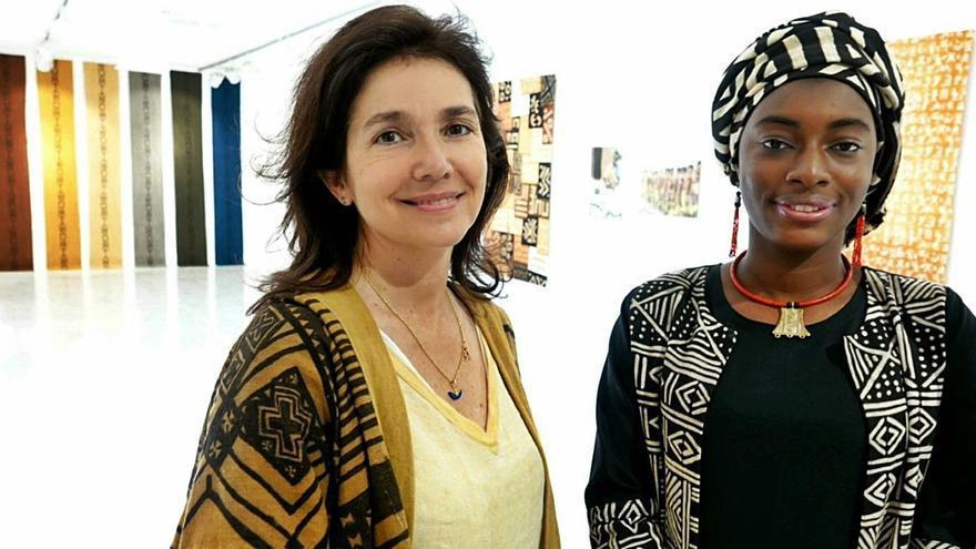 Casa África expone el ancestral arte del bogolanfini textil de las mujeres de Mali
