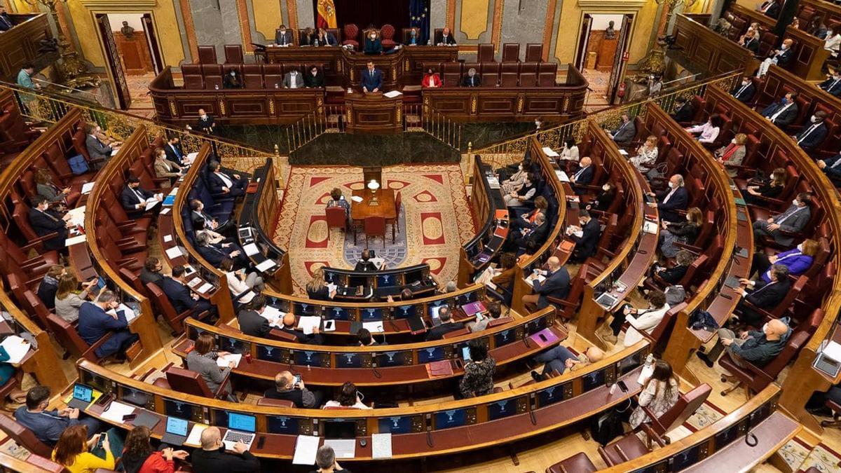 An image of the Congress of Deputies.