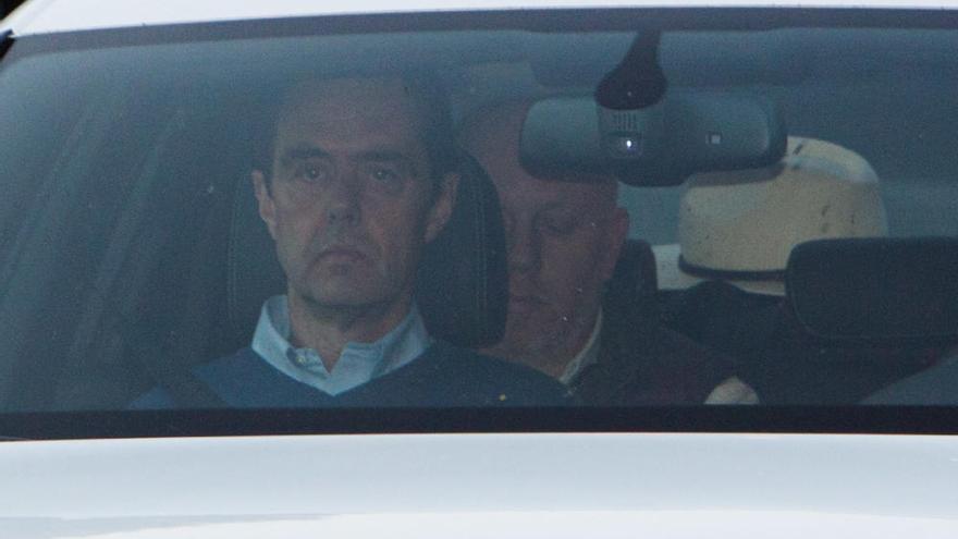 El yerno de la viuda del expresidente de la CAM sale en libertad bajo fianza