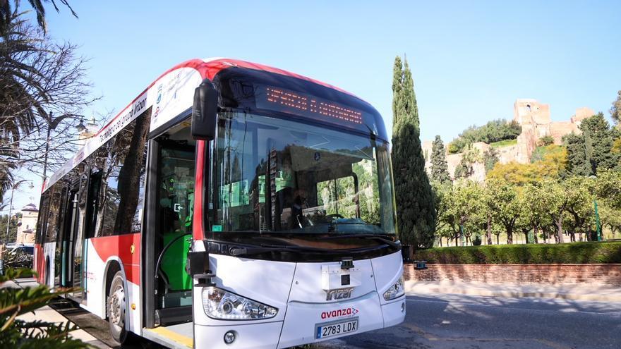 El autobús autónomo de Málaga circula sin problemas