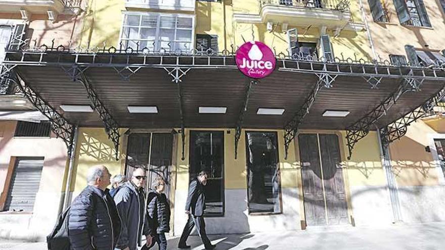 """Aus dem Café Lírico in Palma wird eine österreichische """"Juice Factory"""""""