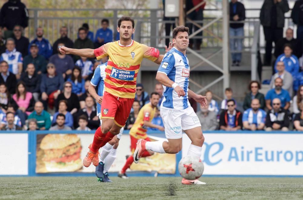 Xisco acerca al Atlético Baleares a la salvación