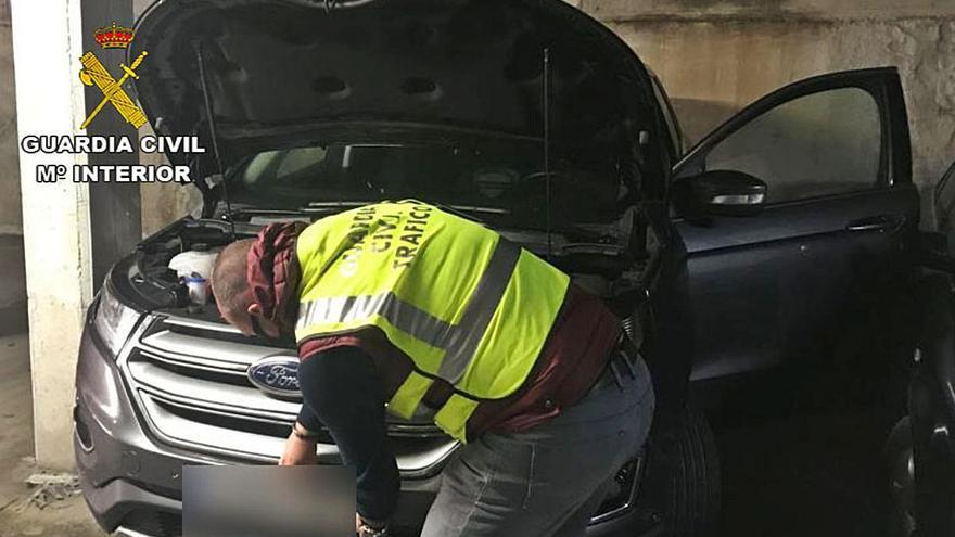 Detenido en un control de tráfico por presunto robo del coche en una concesionaria