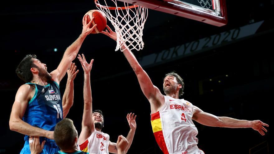 Así ha sido el España - Eslovenia de baloncesto