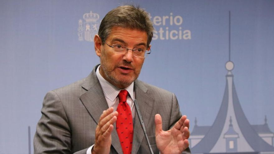 Catalá diu que els tribunals espanyols poden «corregir l'error de forma» de l'euroordre