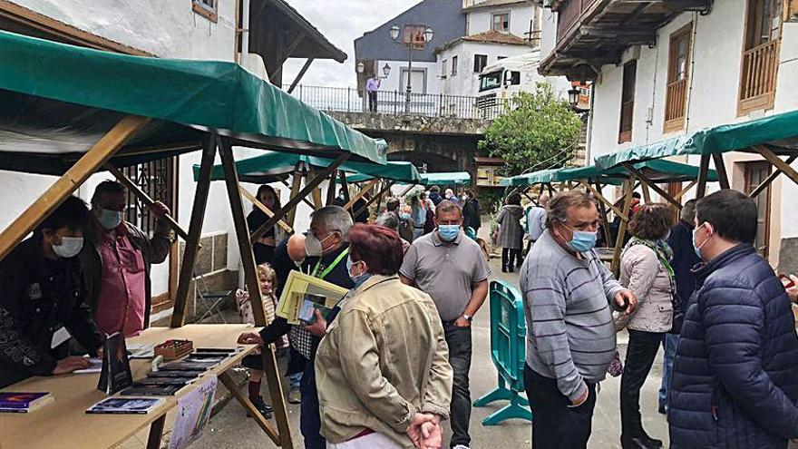 Éxito de público en la primera Feria del Libro de Navelgas