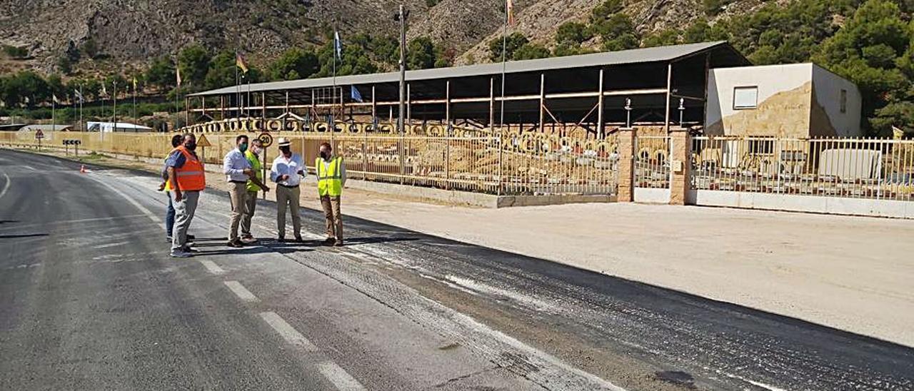 Obras del carril bici de Montepinar con Orihuela. | INFORMACIÓN