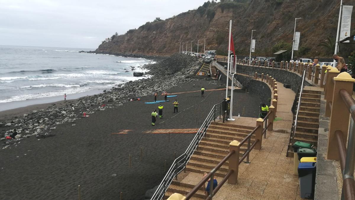 La parcelación de la playa del Socorro comenzó este viernes 16 de julio de 2021