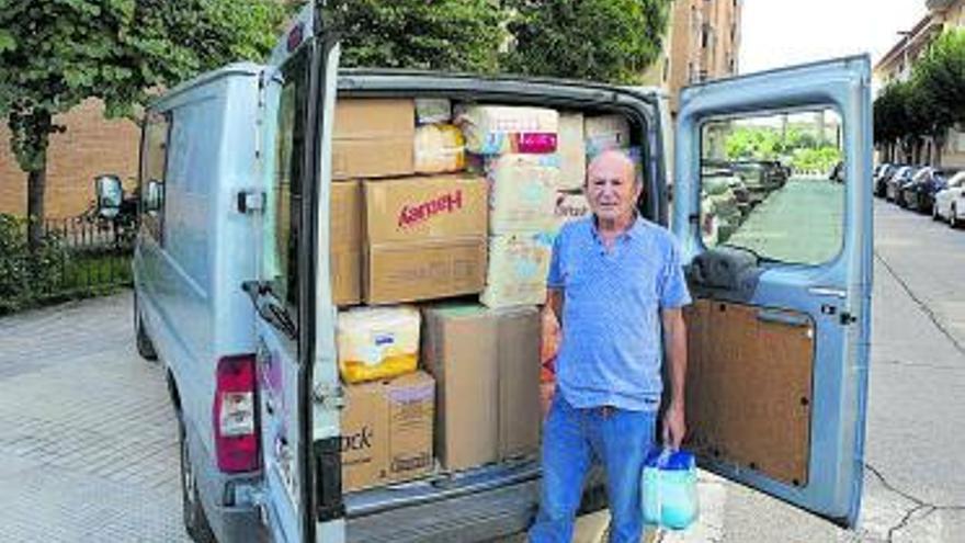 Alboraia dona 7.000 pañales a Ucrania