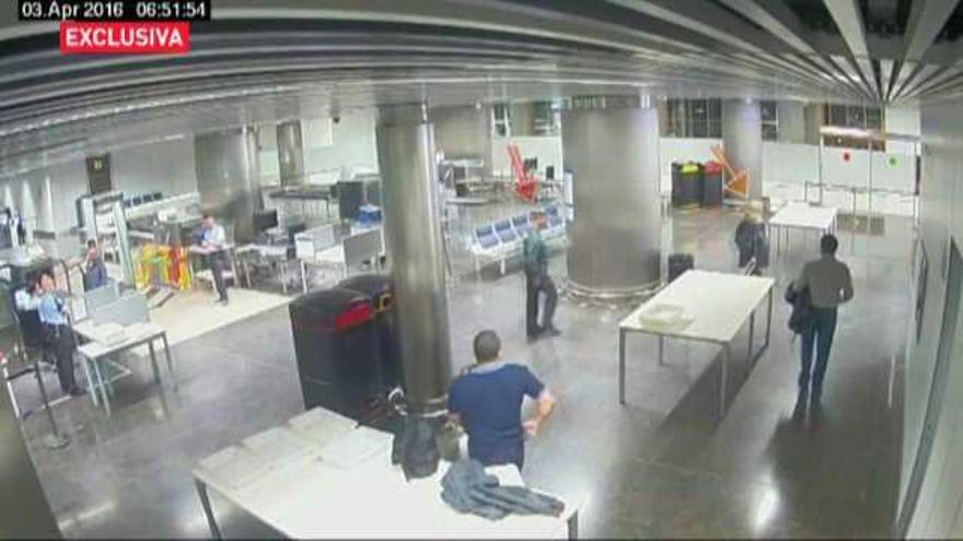 Nuevas imágenes sobre el incidente de Victoria Rosell en Gran Canaria
