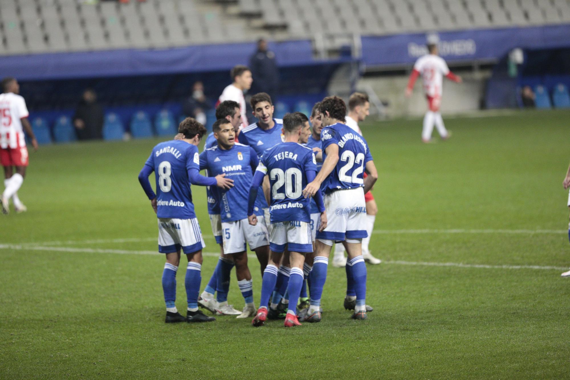 Real Oviedo-Almería (1-2)