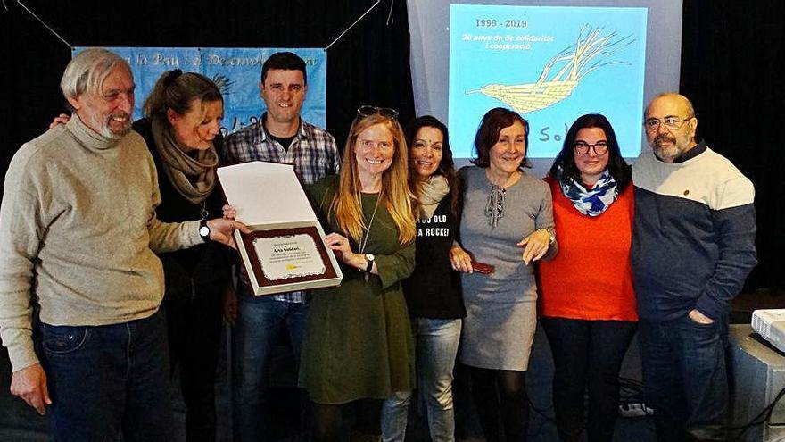 El Ayuntamiento reconoce la labor social de veinte años de Artà Solidari