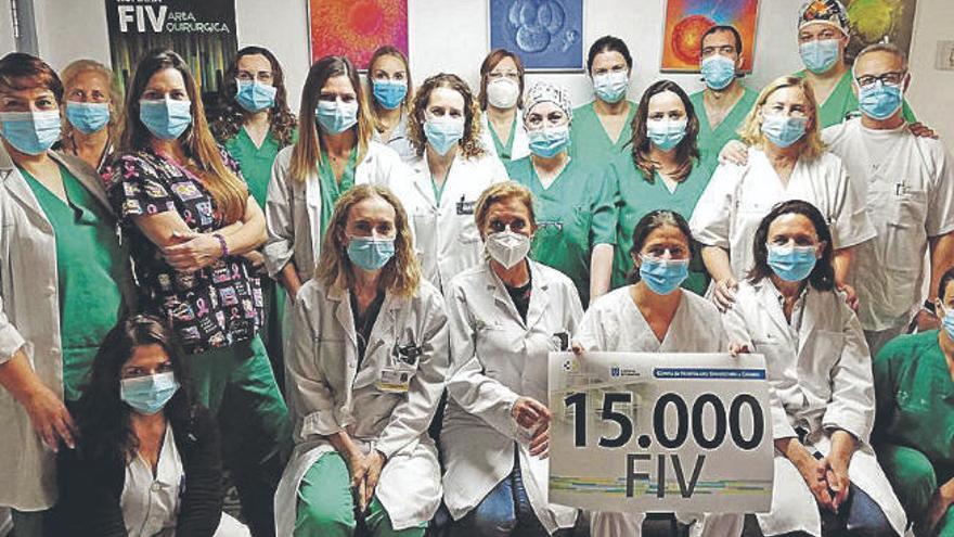 El HUC realiza en dos décadas 15.000 fecundaciones in vitro