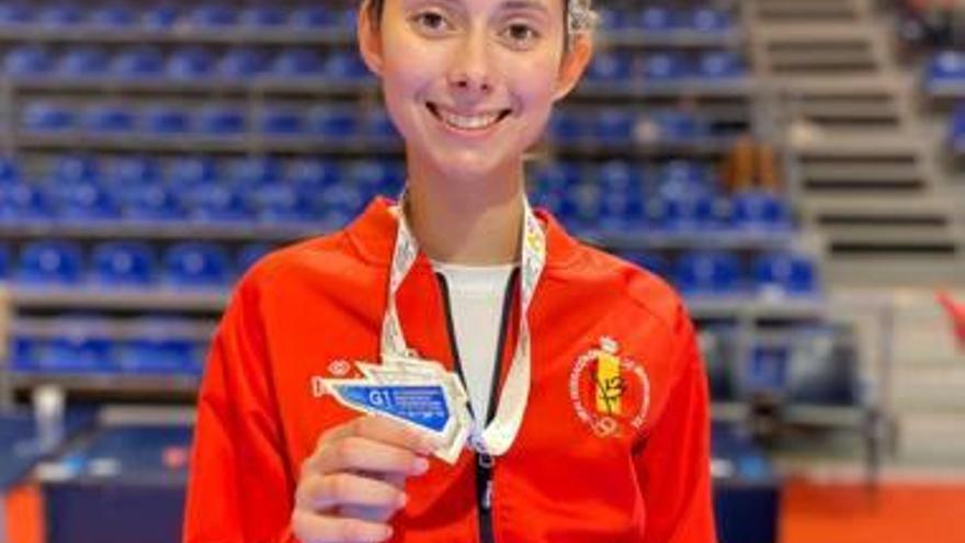 Blanca Palmer Soler se reencuentra en Serbia con el podio