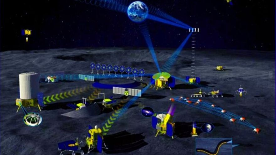 Rusia y China lanzan su proyecto conjunto de colonia lunar