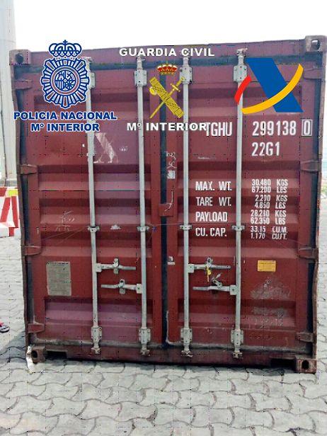 Interceptados 190 kilos de coca en África