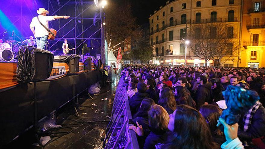 Sant Sebastià 2019: Consulta todos los grupos por plazas que actuarán en la revetla de Palma