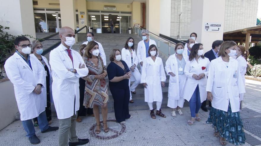 El hospital Reina Sofía incorpora un segundo robot quirúrgico, que se usará en el Provincial